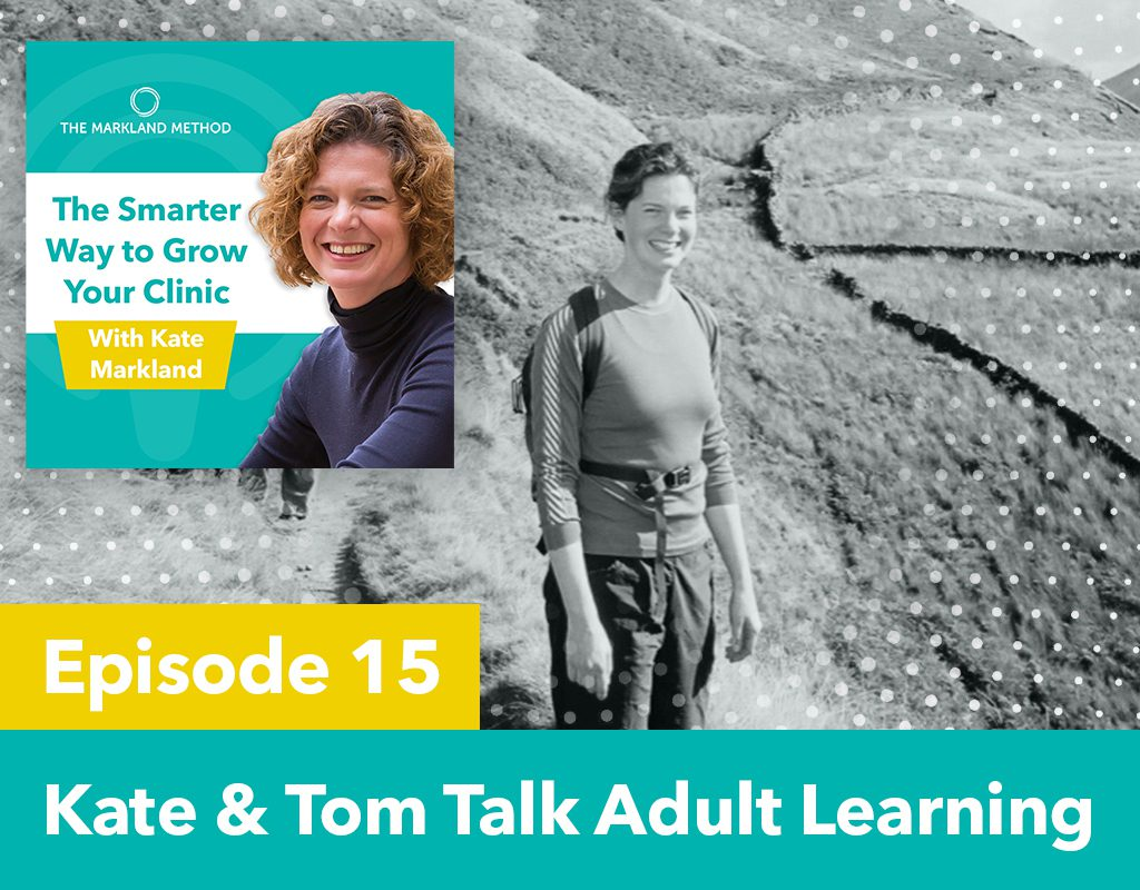Kate & Tom Talk Adult Learning
