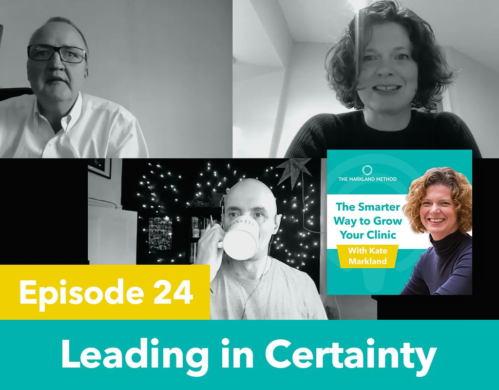 Leading in Certainty