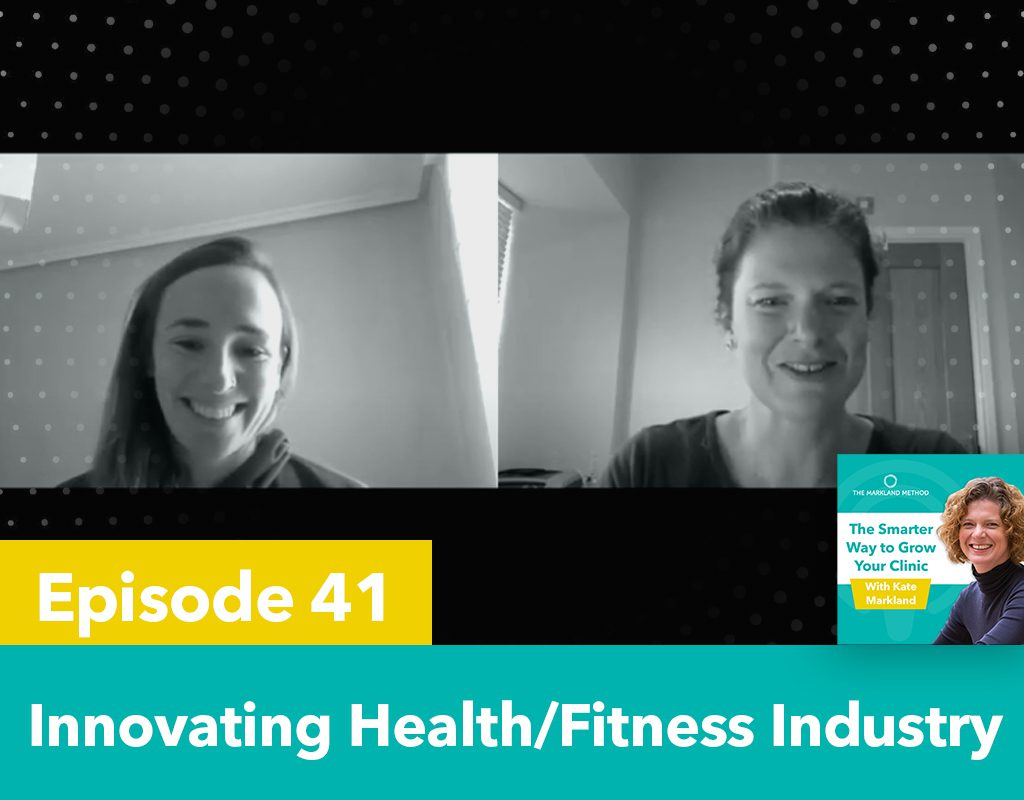 Innovating the health and fitness industry