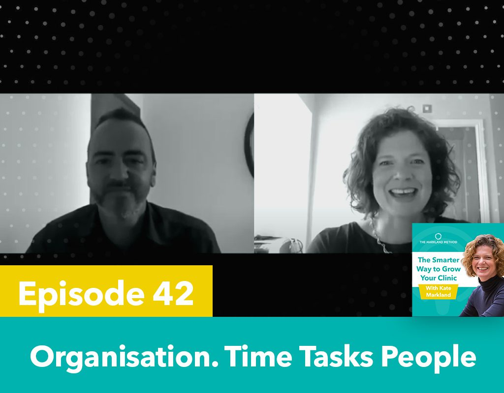 How to manage time and tasks and people